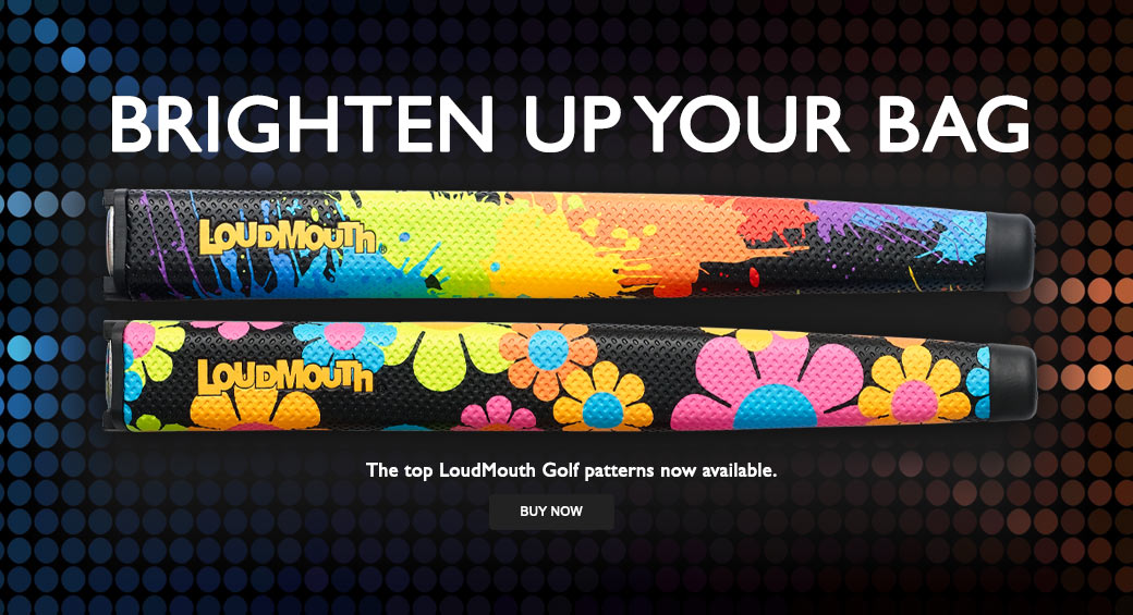 LoudMouth Putter Grips
