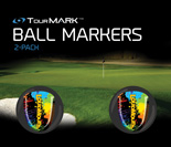 PaintBallz pattern ball markers for TourMARK oversized putter grips