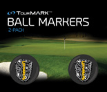 Shiver Me Timbers pattern ball markers for TourMARK oversized putter grips